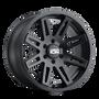 ION 142 Matte Black 17x9 8x170 -12mm 130.8mm
