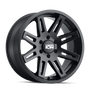 ION 142 Matte Black 20x9 8x165.1 0mm 130.8mm