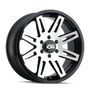 ION 142 Black w/ Machined Face 20x9 8x170 0mm 130.8mm