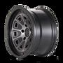 Mayhem Flat Iron Matte Black w/ Dark Tint 18x9 6x135 0mm 87.1mm - wheel side view