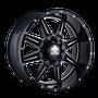 Mayhem 8100 Monstir Gloss Black/Milled Spokes 22x10 6x135/6x139.7 -19mm 108mm