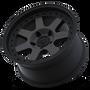Mayhem Prodigy 8300 Matte Black w/ Dark Tint 18x9 6x135 0mm 87.1mm - wheel tilted view