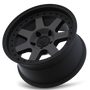 Mayhem Prodigy 8300 Matte Black w/ Dark Tint 20x9 6x135 0mm 87.1mm - wheel tilted view