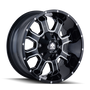 Mayhem Fierce 8103 Gloss Black/Milled Spokes 18x9 6x120/6x139.7 18mm 78.1mm