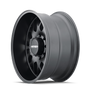 Mayhem Tripwire Matte Black 20x9 6x139.7 11mm 106mm - wheel side view