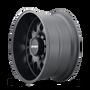 Mayhem Tripwire Matte Black 20x10 6x139.7 -19mm 106mm - wheel side view