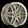 Touren TR74 Matte Gold 18x8 5x108/5x114.3 40mm 72.56mm