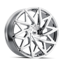 Mazzi 372 Big Easy Chrome 24x9.5 6x135/6x139.7 30mm 106mm