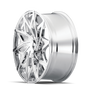 Mazzi 372 Big Easy Chrome 24x9.5 6x135/6x139.7 30mm 106mm - wheel side view