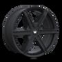 Mazzi 371 Stilts Matte Black 20x8.5 5x108/5x114.3 35mm 72.6mm