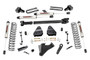 4.5IN Ford Suspension Lift Kit (17-19 F-350/450 4WD | Diesel Dually) - V2 Monotube w/ Front Driveshaft