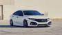2017-2021 Honda Civic Si Air Lift Strut Kit w/ Manual Air Management displayed on vehicle