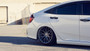 2016-2021 Honda Civic 2.0L Air Lift Strut Kit w/ Manual Air Management displayed on vehicle passenger side rear