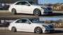 2010-2016 Mercedes E-Class (W212/S212) CLS-Class (W218/C218/X218) RWD Air Lift Front Air Strut Kit w/ Manual Air Management Vehicle Up and Down View
