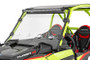 Polaris Scratch Resistant Vented Full Windshield (19-21 RZR Turbo S) mounted view