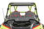 Polaris Scratch Resistant Full Windshield (19-21 RZR Turbo S) mounted front view