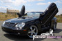 Vertical Doors 2003-2009 MERCEDES CLK Bolt on Lambo Door Kit- displayed on vehicle