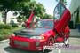 Vertical Doors 1992-1995 HONDA CIVIC Bolt on Lambo Door Kit - displayed on vehicle