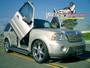 Vertical Doors 2003-2005 LINCOLN NAVIGATOR Bolt on Lambo Door Kit - displayed on a vehicle