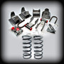 "95-00 Astro & Safari 2""F COILS-3""R LOWERING KIT"