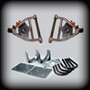 """68-72 C-10 3"""" Front Control Arms 5"""" Rear Lowering Kit DISC BRAKES"""