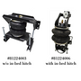 with and without bed hitch air ride for Level Tow Kit for 08-10 Ford F250/F350 2WD
