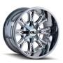 Cali Off-Road Americana PVD2 Chrome 20X9 8-180 18mm 124.1mm