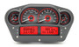 """Universal 6"""" x 10.75"""" Competition, Analog VHX Instruments carbon fiber and red"""