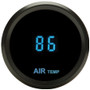Odyssey II Series 2-1/16 Inch Ambient Air Temperature with Black Bezel