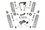 4in Jeep Suspension Lift Kit (07-18 JK Wrangler Unlimited) w/ V2 Monotube Shock Upgrade