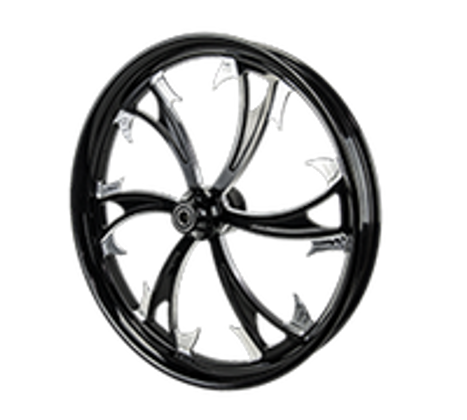 Motorcycle Wheels by SMT Machining