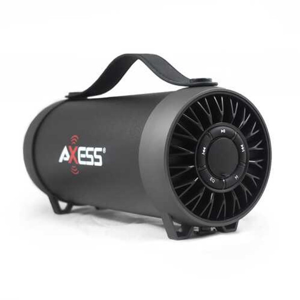 Axess Bluetooth Media Speaker with Equalizer in Black