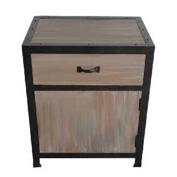 """1"""" x 17"""" x 20"""" Brown, Wood - End Table"""