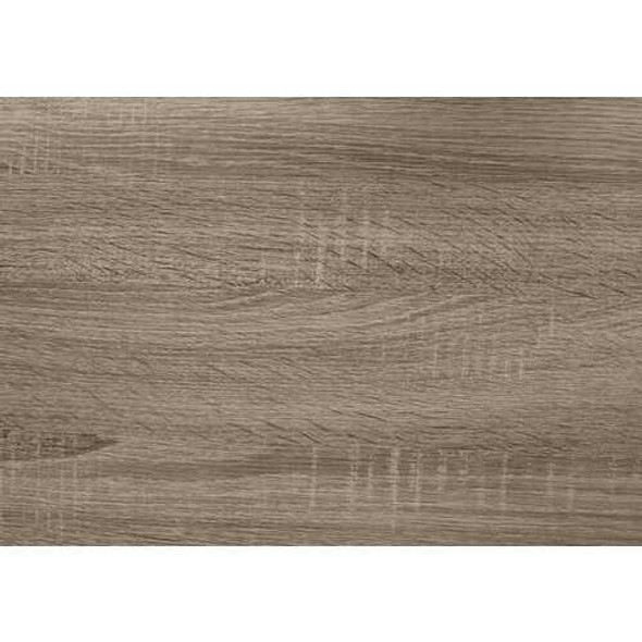"""11.75"""" x 23.75"""" x 23.75"""" Dark Taupe  HollowCore  Particle Board  Accent Table"""