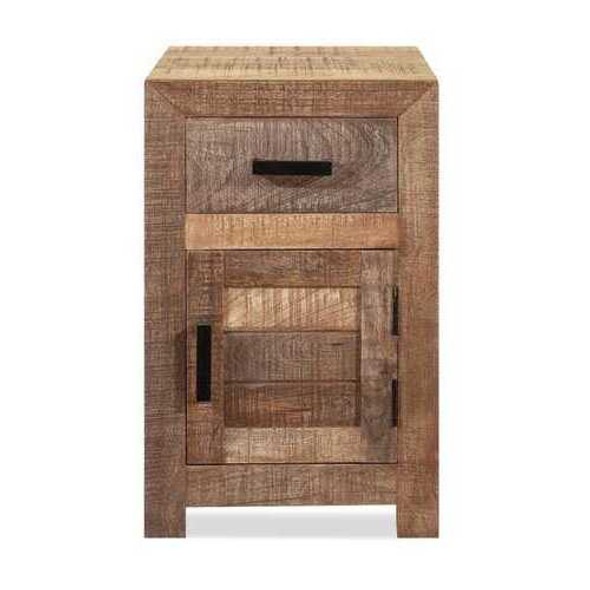 Solid Wood Butcher Block Accent Cabinet or Nightstand