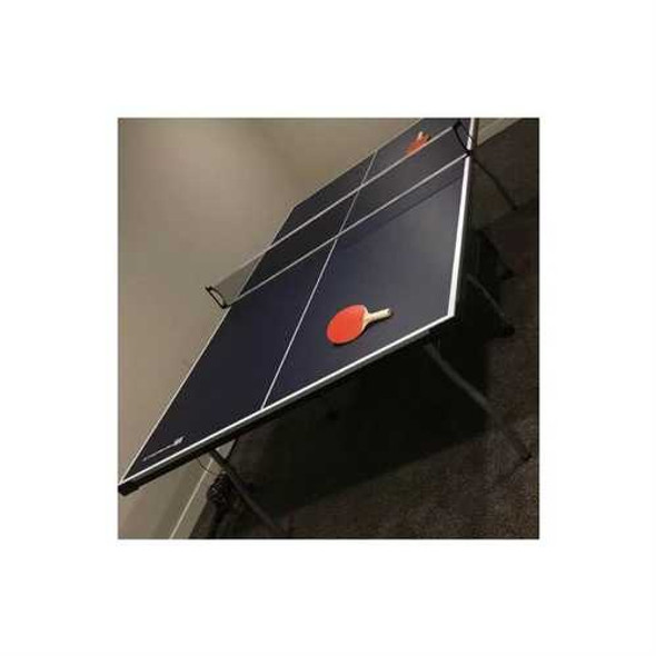Official Tournament Grade Blue Foldable Indoor Table Tennis Table with Paddles and Balls