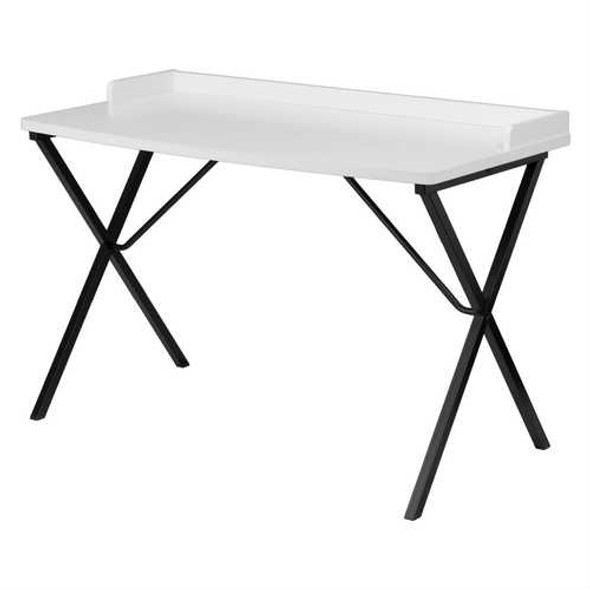 White Top Modern Student Teen Adult Writing Table Computer Desk