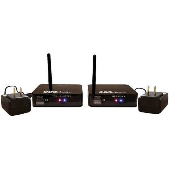 BIC America WTR-SYS 4-Channel Wireless Audio Transmitter/Receiver System