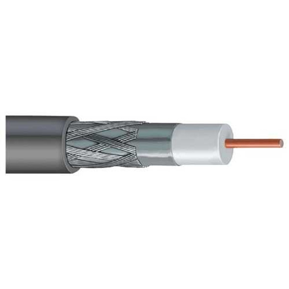 Vextra V66B GRAY DISH-Approved Single RG6 Cable, 1,000ft (Gray)