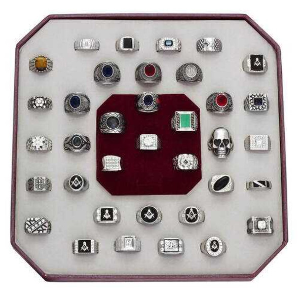 KIT-A-Size10 - Stainless Steel Kits High polished (no plating) Men Assorted Assorted
