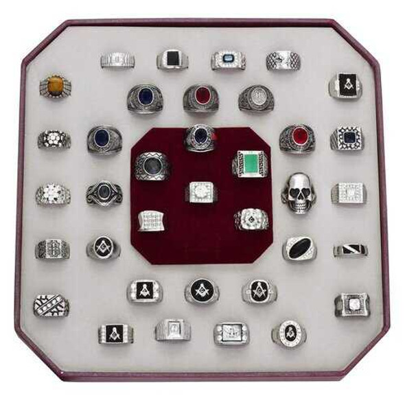 KIT-A-Size8 - Stainless Steel Kits High polished (no plating) Men Assorted Assorted