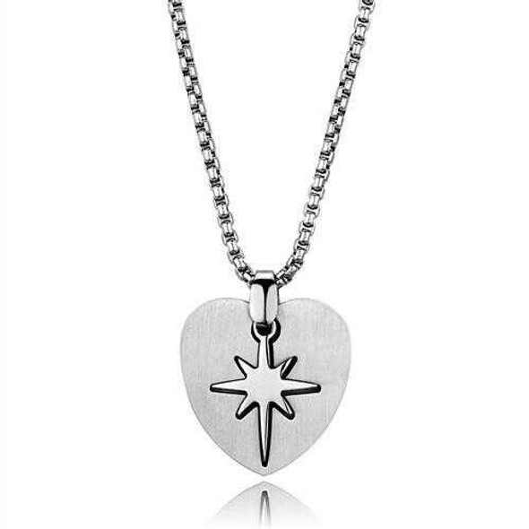 TK2011 - Stainless Steel Necklace High polished (no plating) Men No Stone No Stone