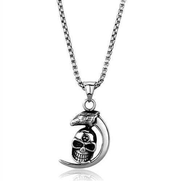 TK2012 - Stainless Steel Necklace High polished (no plating) Men No Stone No Stone