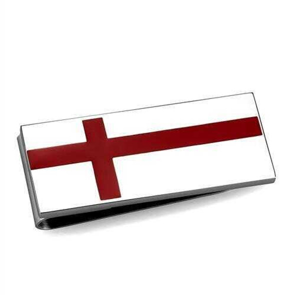 TK2089 - Stainless Steel Money clip High polished (no plating) Men No Stone No Stone