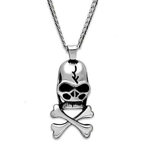 TK457 - Stainless Steel Necklace High polished (no plating) Men No Stone No Stone