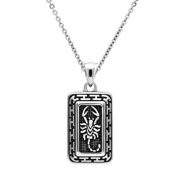 TK546 - Stainless Steel Chain Pendant High polished (no plating) Men No Stone No Stone
