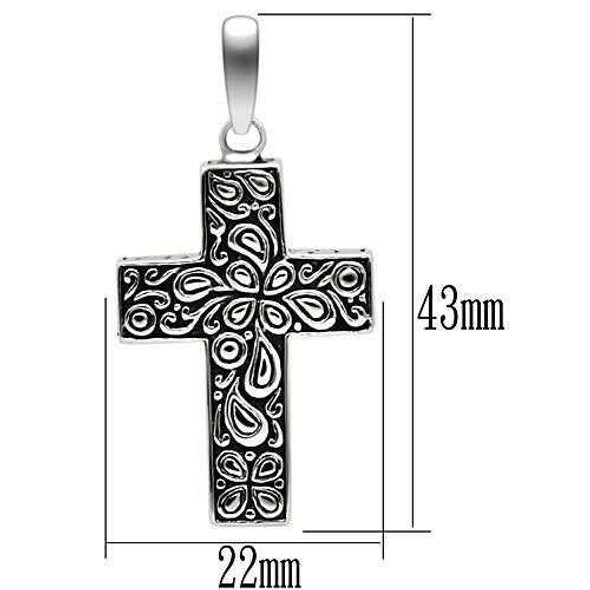 TK553 - Stainless Steel Necklace High polished (no plating) Men No Stone No Stone