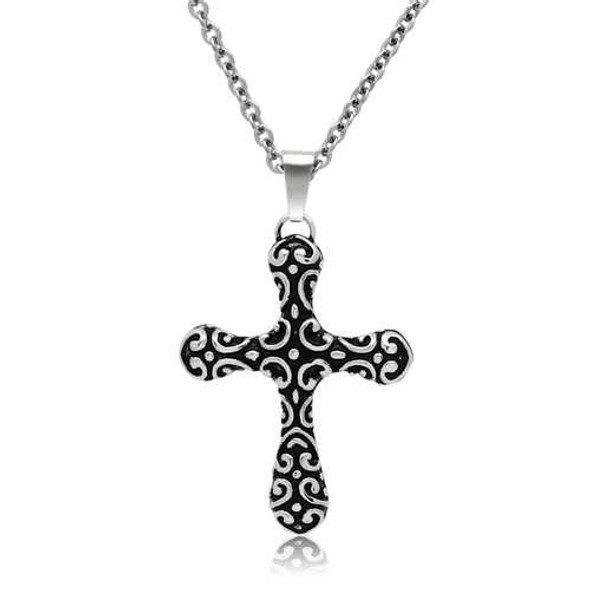 TK554 - Stainless Steel Necklace High polished (no plating) Men No Stone No Stone