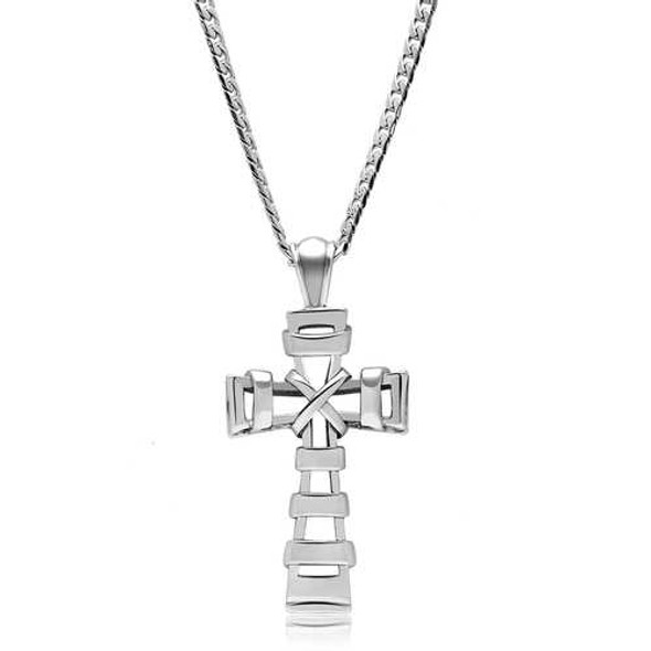 TK555 - Stainless Steel Necklace High polished (no plating) Men No Stone No Stone