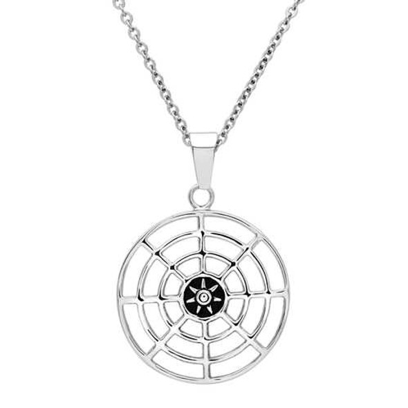 TK563 - Stainless Steel Necklace High polished (no plating) Men No Stone No Stone